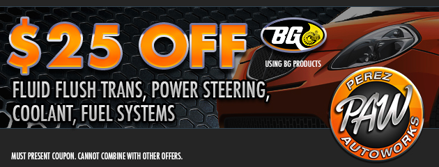 $25 Off BG Product Services