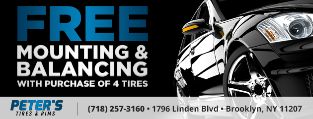 Free Mounting and Balancing with Purchase of 4 Tires