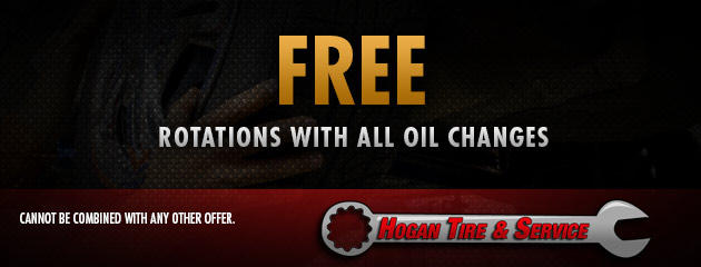 Free Rotations with all Oil Changes