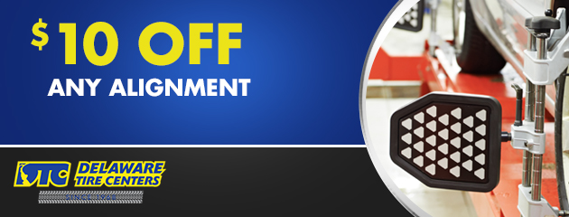 $10 Off Any Alignment
