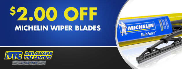 $2.00 Off Michelin® Wiper Blades