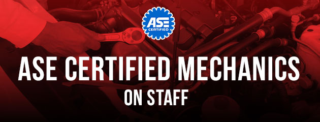 ASE Mechanics On Staff