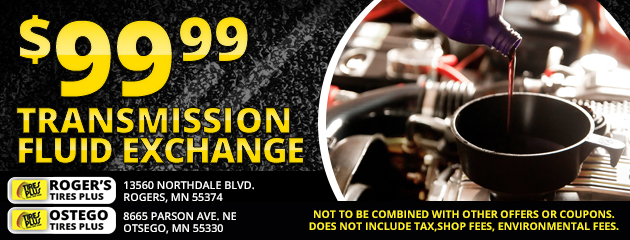 $99.99 Transmission Fluid Exchange