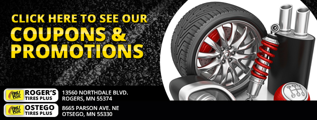 Rogers Tire Plus Savings
