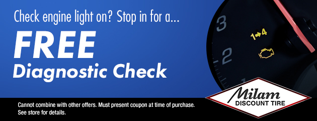 Free Diagnostic Check Coupon