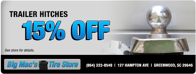 15% Off Trailer Hitches
