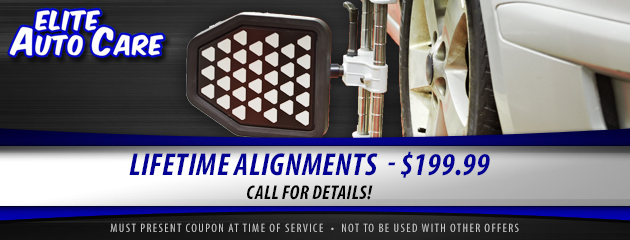 Lifetime Alignments - $199.99