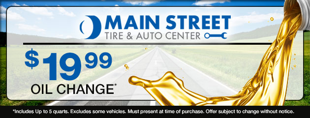$19.99 Oil Change Coupon