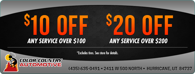 Save up to $20 on Service!