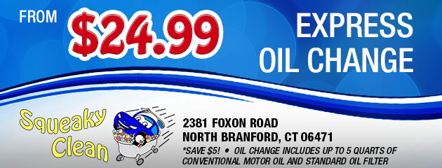 Express Oil Change from $24.99