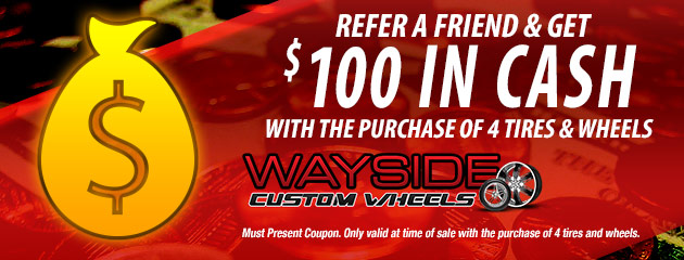 Refer a Friend & Get $100 in Cash!