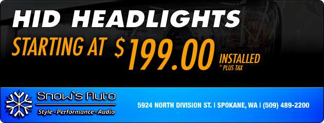 HID Headlights - Starting at $199