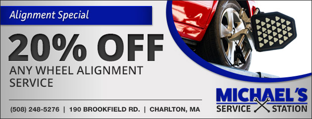 20% Off Any Wheel Alignment Service Special