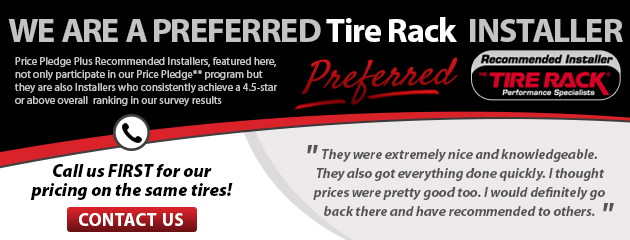 Preferred Tire Rack Installer