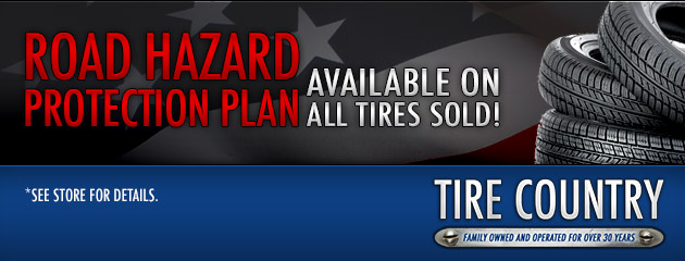 Road Hazard Warranty Available