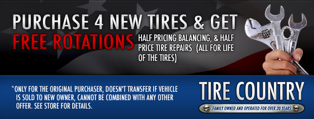 Tire Special Package!