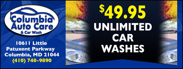Unlimited Car Washes $49.95