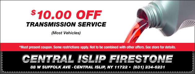 $10 Off Transmission Service Coupon