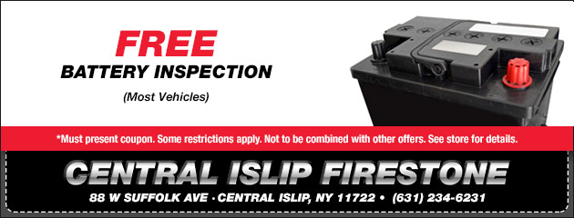 Free Battery Inspection Special