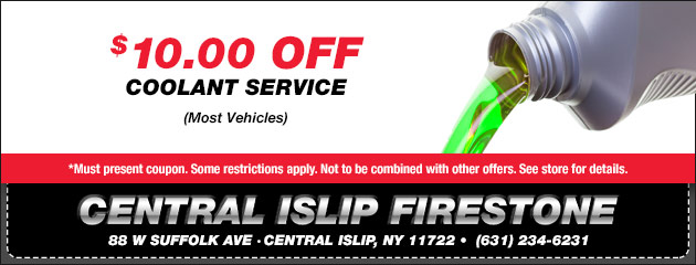 $10 Off Coolant Service Coupon