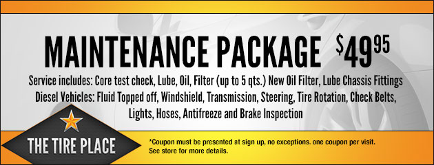 $49.95 Maintenance Package