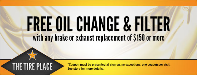 Free Oil Change and Filter with select service