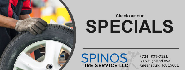Spinos Tire Service Savings