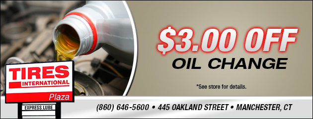 $3 Off Oil Change