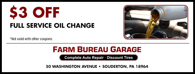 $3 Off Full Service Oil Change