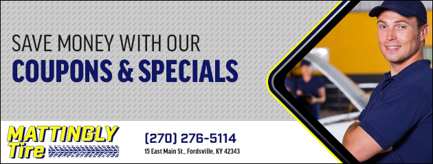 Mattinglys Tire & Towing Savings