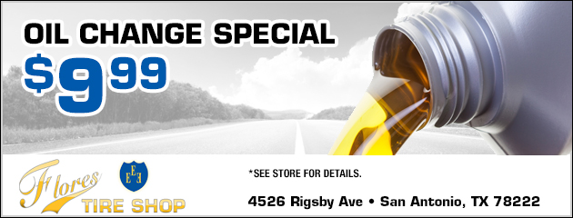 $9.99 Oil Change Special