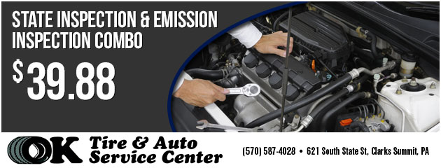 State Inspection and Emission Inspection Combo $39.88