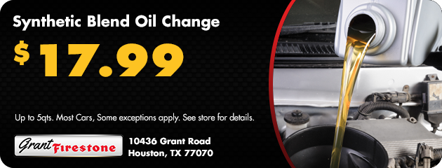 Synthetic Blend Oil Change $17.99