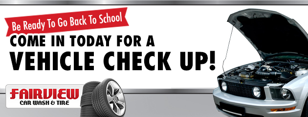 Come In Today for a Vehicle Check Up