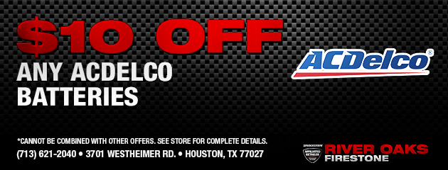 $10 Off ACDelco Batteries