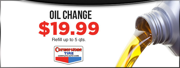 $19.99 Oil Change MC