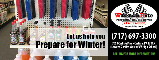 Let us help you prepare for Winter