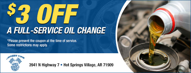 $3.00 Off a Full-Service Oil Change