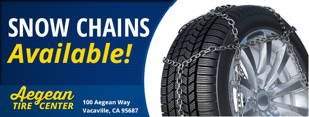 Snow Chains Available!