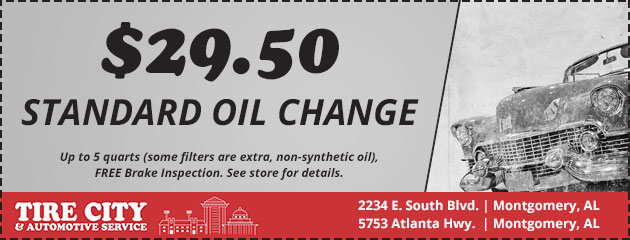 Standard Oil Change Special