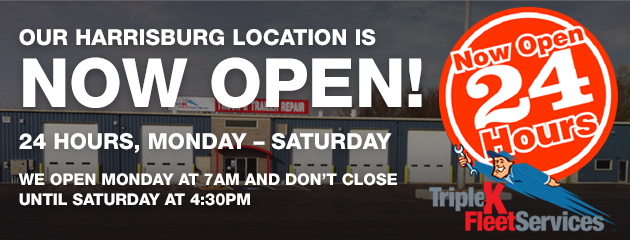 New Hours for Our Harrisburg location