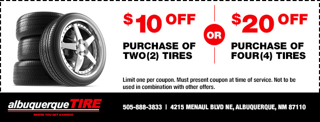Albuquerque Tire Inc. - Tire Purchase Special