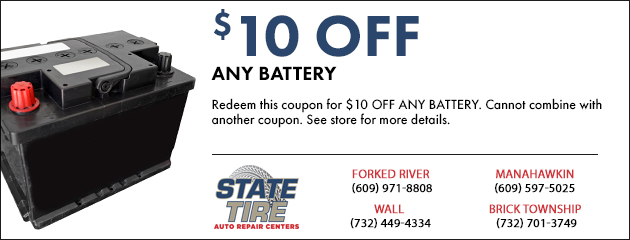 $10.00 OFF Any Battery