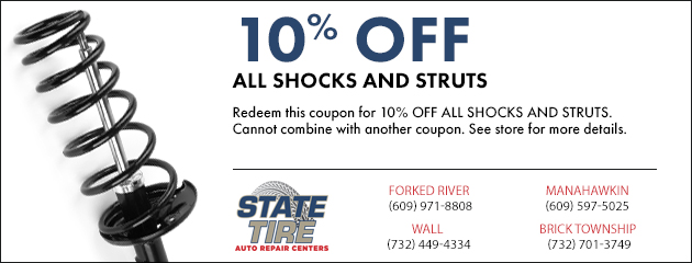 10% Off Shocks and Struts