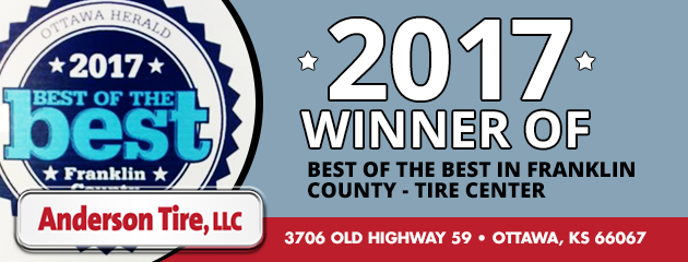 2017 Winner of Best of the Best in Franklin County