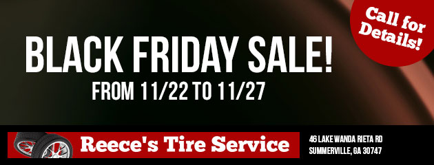 Ask about our Black Friday Sale!