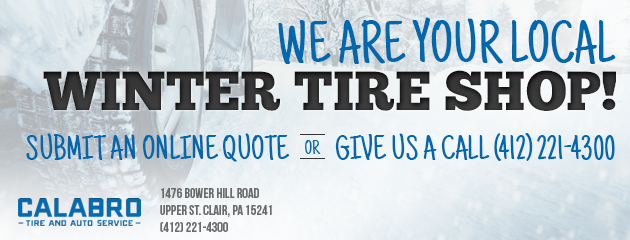 We Are Your Local Winter Tire Shop!