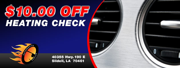 $10 Off Heating Check