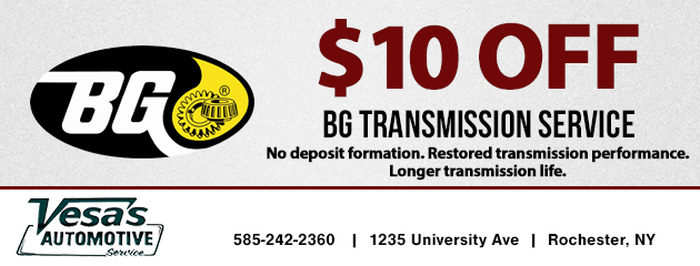 BG Transmission Service - $10 Off