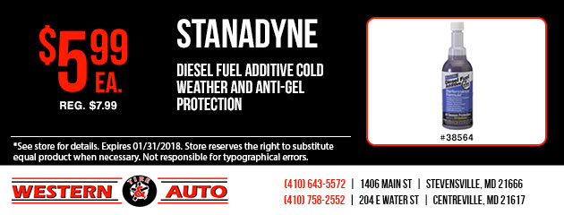Stanadyne Diesel Fuel Additive Cold Weather and Anti Gel Protection Special